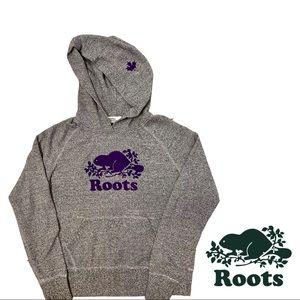 Roots | Salt & Pepper Women's Kanga Hoodie